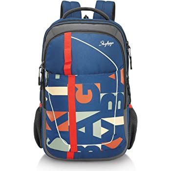 Skybags Geek 48 Ltrs Blue Laptop Backpack with Raincover