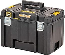 DEWALT TSTAK DWST83346-1 Diepe gereedschapskist, 44 l volume, grote doos, combineerbaar met andere TSTAK-boxen, veilige op...