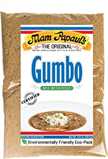 Mam Papaul's Gumbo Mix w/ Roux Eco Pack
