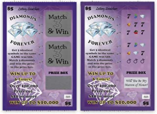 Will You Be My Matron of Honor? - Lotto Replica Scratch Off Card - 1 Card - My Scratch Offs