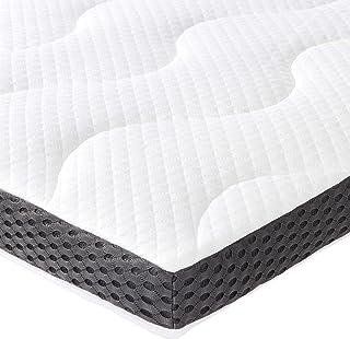 AmazonBasics - Cubrecolchón de espuma de gel de 7 cm - 180 x 200 cm
