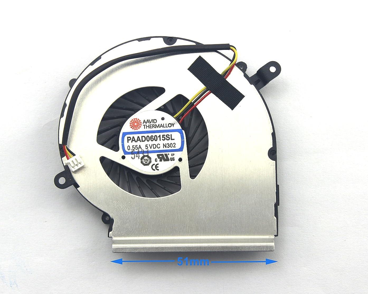 CHNASAWE Laptop GPU (Not CPU) Cooling Fan for MSI Gaming GP62 2QD GP62 2QE GP62 6QE GP62 6QF GP72 2QD GP72 2QE GP72 6QE GP72 6QF