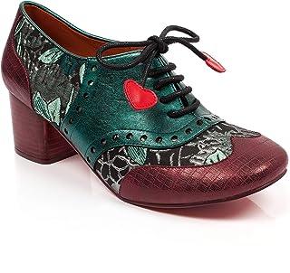a225e2a8 Poetic Licence by Irregular Choice Clara Bow, Zapatos de Cordones Brogue  para Mujer