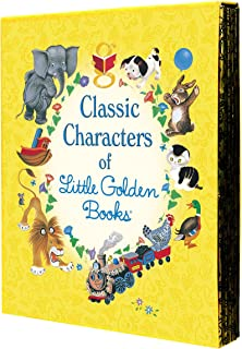 Classic Characters of Little Golden Books: The Poky Little Puppy, Tootle, The Saggy Baggy Elephant, Tawny Scrawny Lion, an...