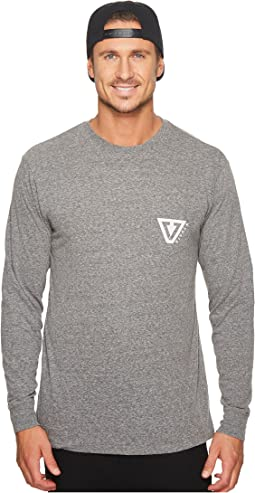 VISSLA - Established Long Sleeve Pocket T-Shirt