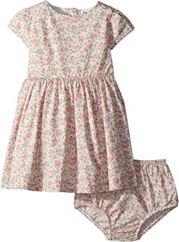 Ralph Lauren Baby - Floral Cotton Dress & Bloomer (Infant)