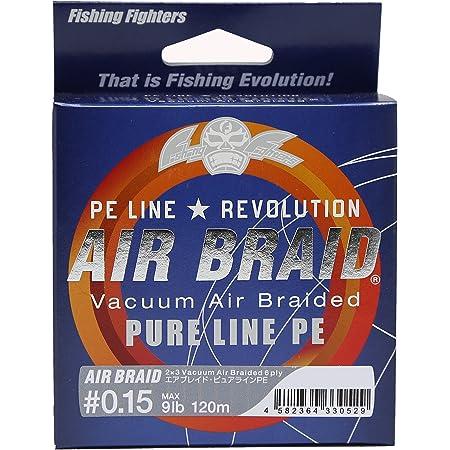Fishing Fighters(フィッシングファイターズ) PEライン エアブレイド 0.15号