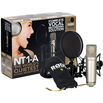 RODE 【マイク機材フルセット!!】Rode NT1A Anniversary Vocal Condenser Microphone Package ■並行輸入品■