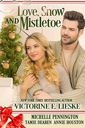 Love, Snow and Mistletoe: Four Sweet Christmas Romance Novellas