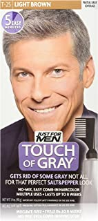 Touch of Gray Men's Hair Color, Light Brown (Pack of 2)