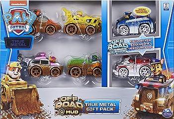 6-Pack Paw Patrol True Metal Off-Road Gift Set