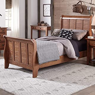Liberty Furniture Industries Grandpas Cabin Twin Sleigh Bed, 42