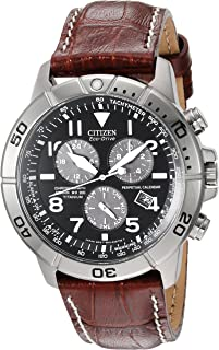 Citizen Mens Eco-Drive Titanium Chronograph Watch with Perpetual Calendar and Date, BL5250-