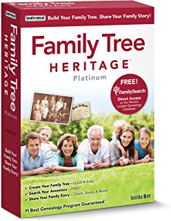 family tree heritage genealogy software