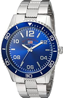 U.S. Polo Assn. Casual Watch For Men Analog Metal - US8609