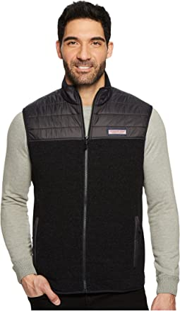 Vineyard Vines - Channel Quilt Jacquard Fleece Vest