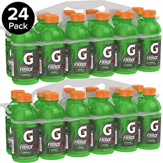 Gatorade Thirst Quencher, Green Apple, 12 Ounce Bottles (Pack of 24)