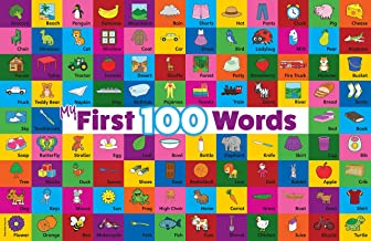 My 100 First Words Laminated Poster (18 x 24)