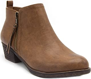 Sugar Women's Truffle Ankle Bootie Boot with Side Zip