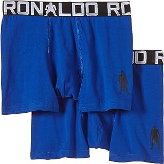 Cristiano Ronaldo - Pack de 2 Calzoncillos (algodón elástico)
