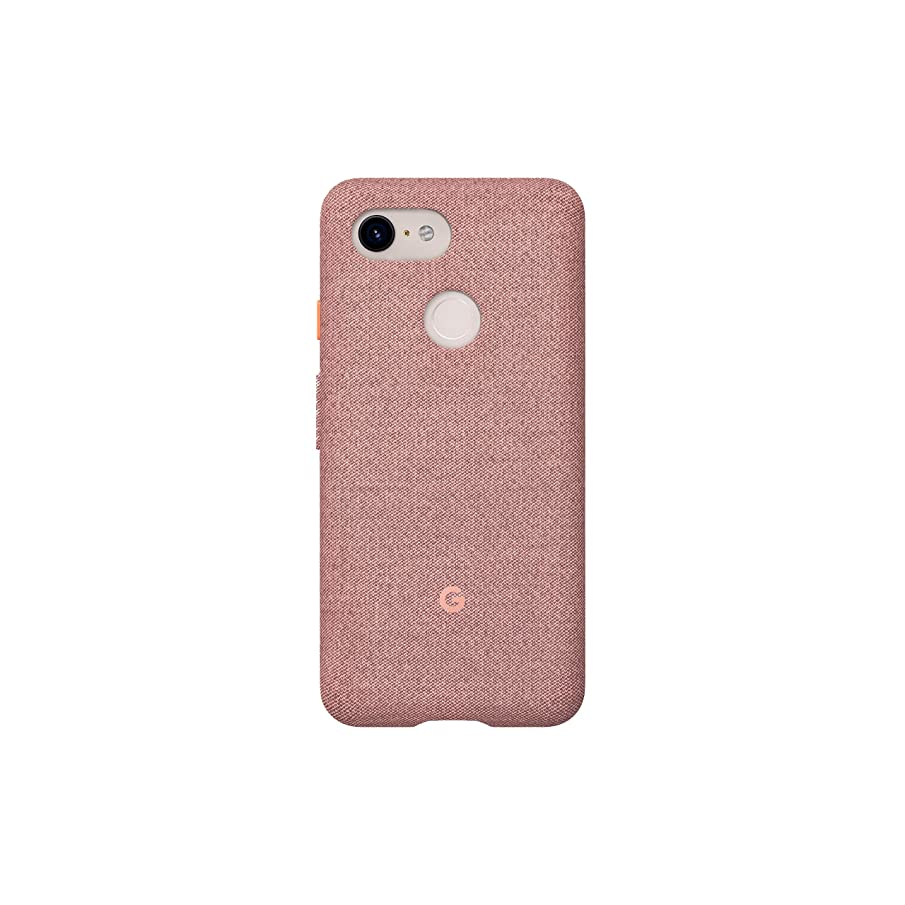 Google Fabric Case Cell Phone Case for Pixel 3 - Pink Moon Fabric
