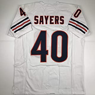 Unsigned Gale Sayers Chicago White Custom Stitched Football Jersey Size Men's XL New No Brands/Logos