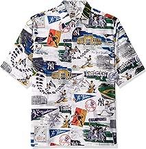 Reyn Spooner Men's New York Yankees MLB Classic Fit Hawaiian Shirt