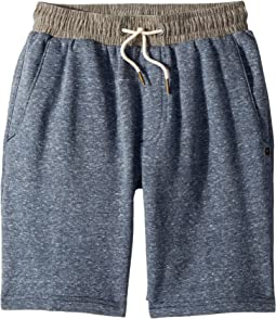 Rip Curl Kids Sea Side Fleece Shorts (Big Kids)