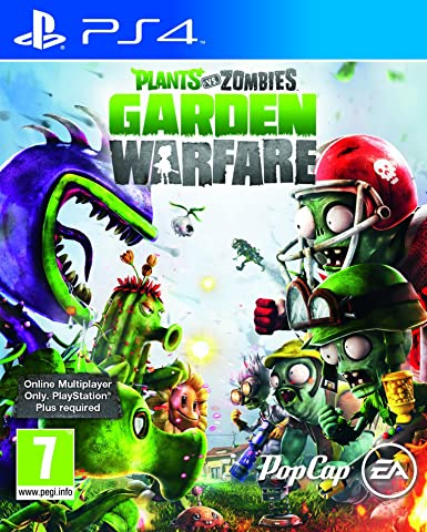 Amazon Com Plants Vs Zombies Garden Warfare Online Play Required Playstation 4 Electronic Arts Video Games