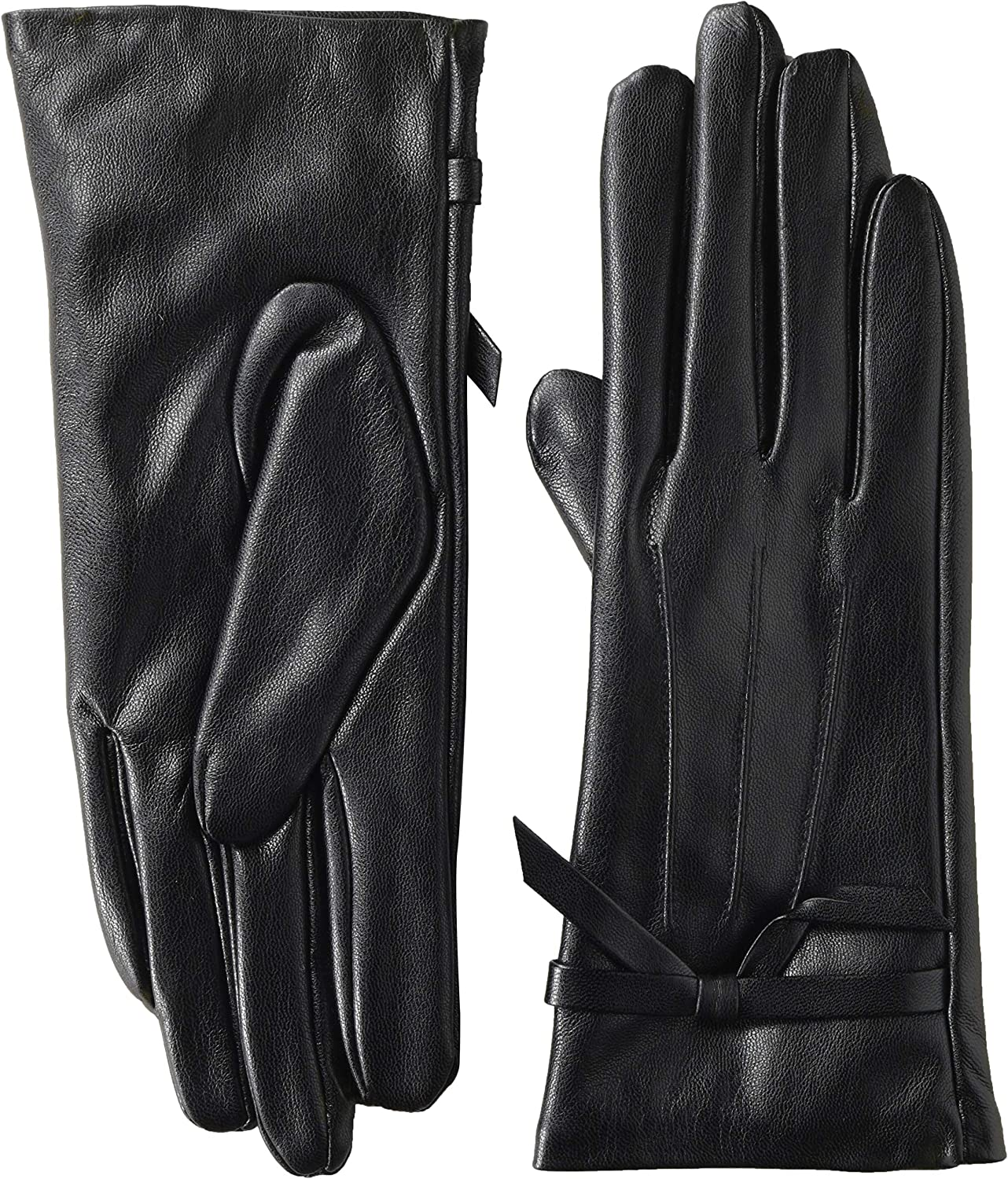 Mud Pie womens Faux Leather Driving Gloves