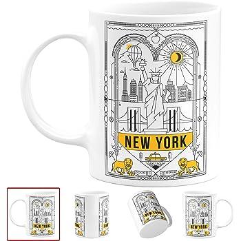 NYC Greek Anthora 11 Oz /& 15 Oz Mugs