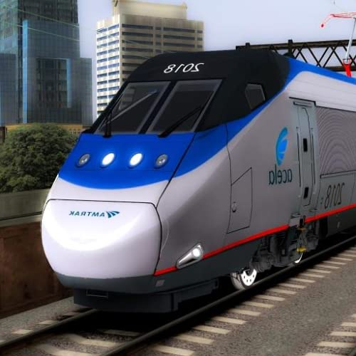 Conductor de tren bala Simulador - Ferrocarril de