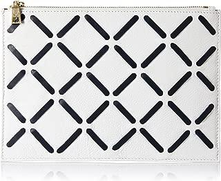 Hidesign Women's Wallet (White M Blue)