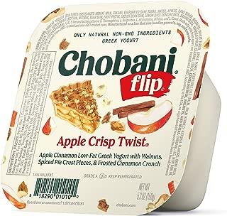Chobani Flip Low-fat Greek Yogurt, Apple Crisp Twist 5.3oz