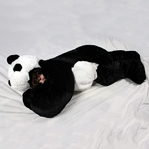 Snoozzoo The All New Panda Children s Stuffed Animal Sleeping Bag for  Children UP to 54 INCHES adaac201f