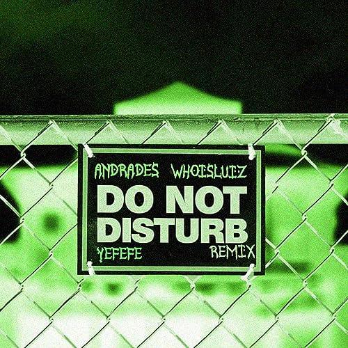 Do not disturb kodak remix