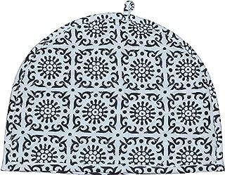 Indian Cotton Printed Tea Cozy Black & White Tea Cosy Indian Mandala Tea Cozies Home Decorative Cotton Creative Tea Pot Cover Tea Cozy