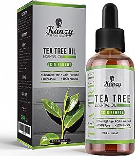 comprar comparacion Kanzy Aceite Arbol del Te 60ml Natural Tea Tree Oil Perfecto Tratamiento para Cara, Cuerpo, Piel y Cabello Aceite Esencial...