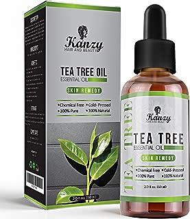 KANZY Aceite esencial de árbol de té para cara y Cuerpo