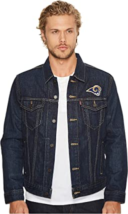 Rams Sports Denim Trucker