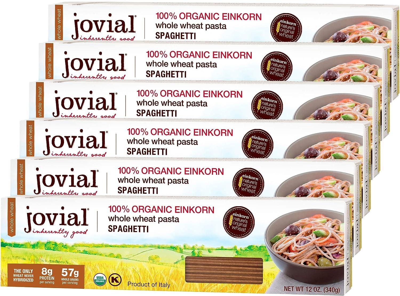 Jovial Las Vegas Mall Spaghetti Einkorn Pasta Whole Organic Grain Sales for sale