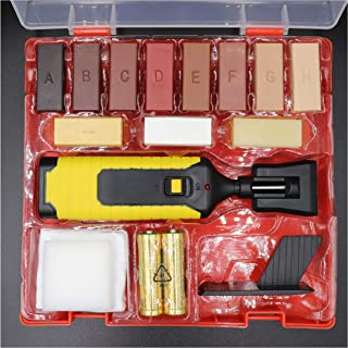Wood Scratch Repair Kit Include 11 Color Wax Suitable for Repairing Furniture Surface, Laminate Floor