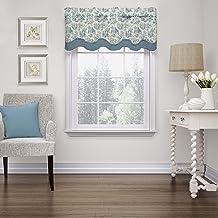 """WAVERLY الستائر للنوافذ - حياة ساحرة 52"""" x 18"""" ستارة قصيرة نافذة ستائر الحمام ، غرفة المعيشة والمطابخ ، زهرة الذرة"""