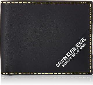 Calvin Klein Smooth stich 10CC Billfold Wallet, Black, 12 cm, K50K505263