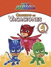 PJ Masks. Cuaderno de vacaciones - 4 años (Cuadernos de vacaciones de PJ Masks)