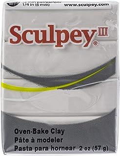 Sculpey Iii Polymer Clay 2oz-White