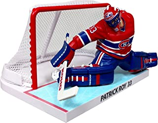 Imports Dragon 1993/94 Patrick Roy Montreal Canadines NHL Figure with GOAL (16 cm)