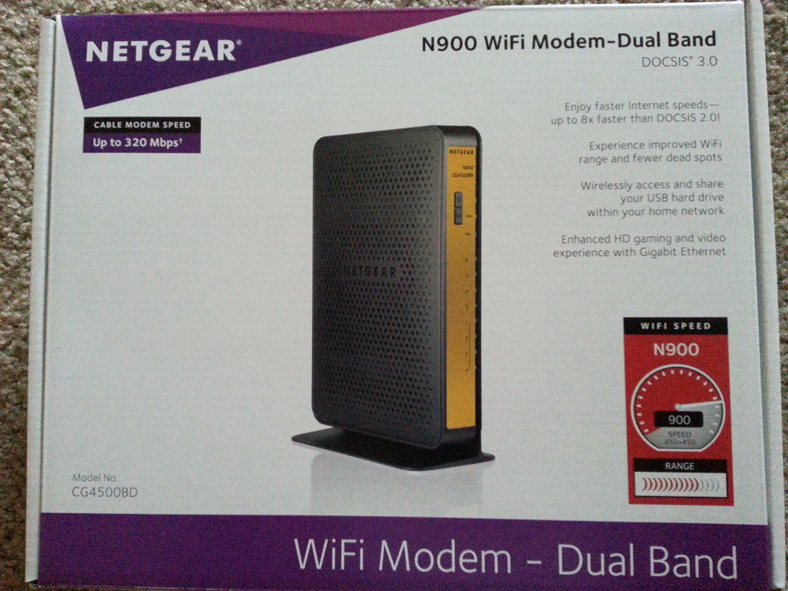 Netgear N900 Gigabit Router CG4500BD