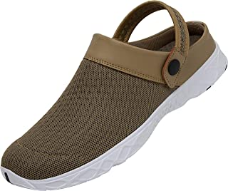 SAGUARO Men Women Unisex Breathable Mesh Net Slippers Beach Hollow Out Sandals Outdoor Sports Casual Summer Shoes