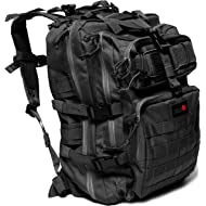 24BattlePack Tactical Backpack   1 to 3 Day Assault Pack Expandable   40L Bug Out Bag   Large...